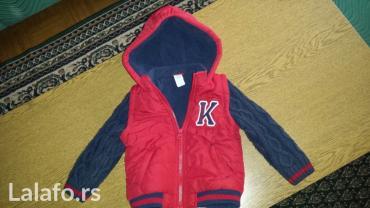 Decija jaknica, velicine 86. Nosena kratko. Kupljena prosle zime u - Loznica