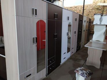 купить-складной-шкаф-из-ткани в Кыргызстан: Новый двух дверные шкафы. Ламинат Россия