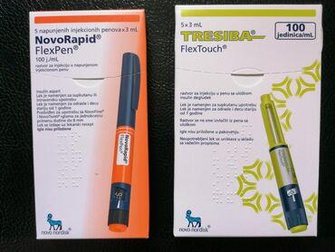 Ostalo - Pozega: Insulin - Novorapid FlexPen - 1 pen 500 dinara, 5 penova 2000 dinara -