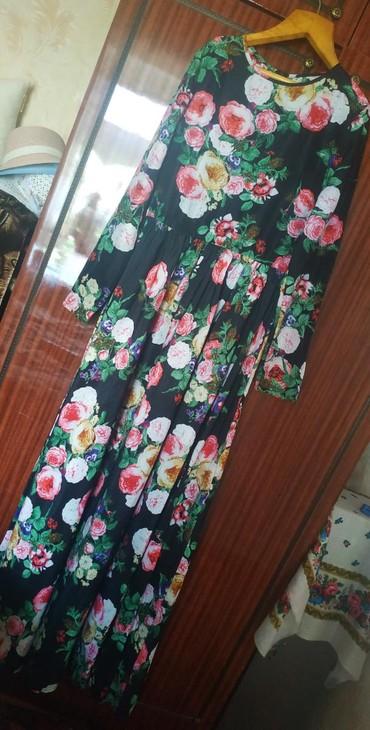 Продам платье. Длина макси. Размер 42-44. Платье лёгкое, воздушное