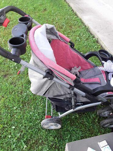 Kolica za bebe jungle sa autosedistem 0-13kg. Ocuvana kao nova