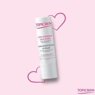 Topicrem Hydra+ Ultra-Hydratant Stick lèvres (Топикрем Гидра+ Бальзам