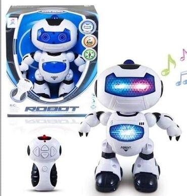 Robot na daljinski svetli i prica