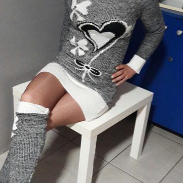 Džemper tunika sa grejačima - Batajnica