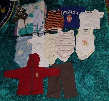Dečija odeća i obuća - Loznica: Paket stvari za dete, do godinu i po. cebence isto ide uz paket