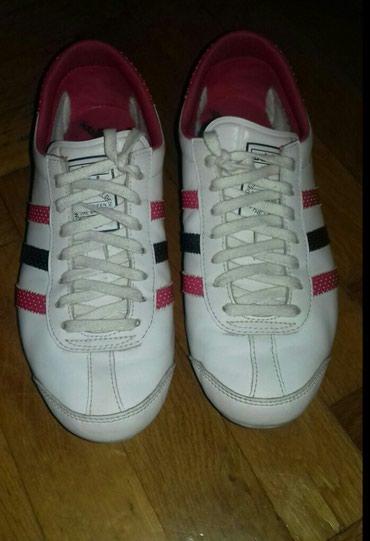 Adidas patike, original, kozne, u odlicnom stanju, kao nove, bez - Beograd