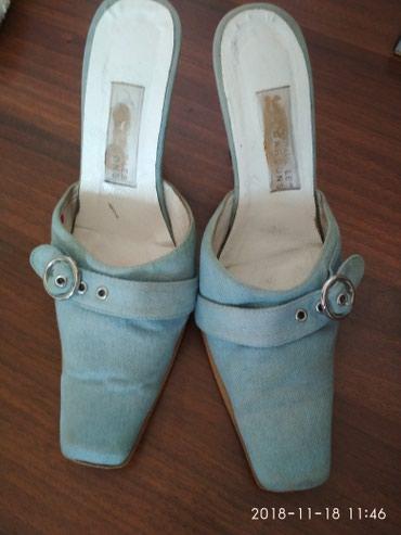 Итальянские босоножки-джинсовые размер 40!!! в Бишкек