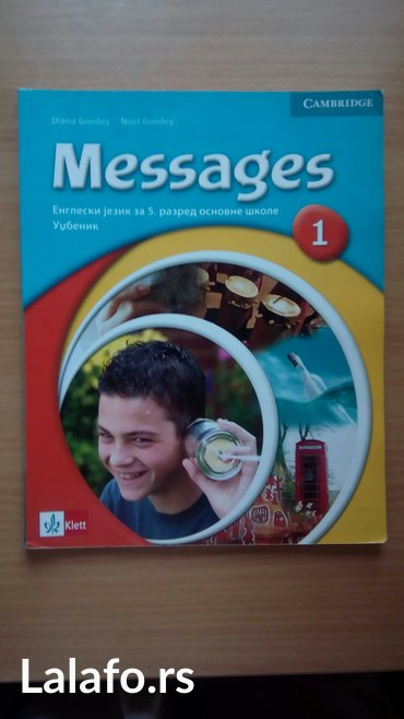 Messages 1, izdavač Klett, udžbenik i radna sveska za PETI razred - Belgrade