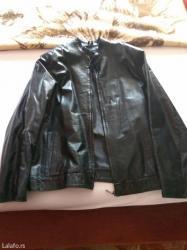 Od-koze-dimenzije - Srbija: Crna muska kozna jakna od ovce lakirane koze. Jakna je iz turske