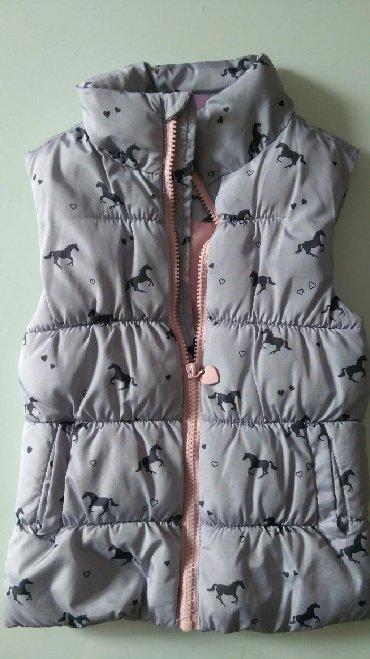 Dečije jakne i kaputi | Subotica: Prsluk za devojcice, kao nov, vel 98, 2-3 god
