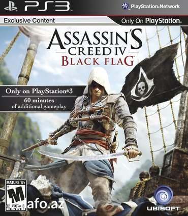 "Ps3 oyunu ""assassin's creed iv: Чёрный флаг"" в Bakı"
