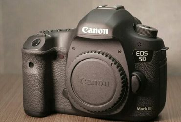 Canon EOS 5D Mark III (6000 probeg) aparat ideal vəziyyətdədir в Bakı