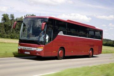 Son model setra avtobusu icaresi , olkedaxili rayonlara turlar , в Баку