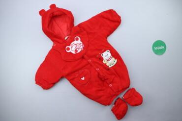 Дитяча яскрава куртка з капюшоном та носочками J.J. Wang   Довжина: 55