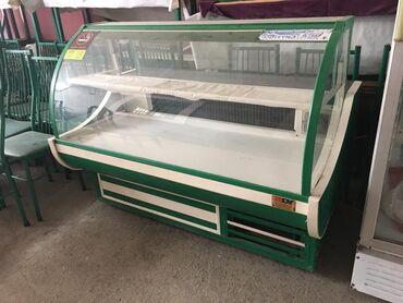 Витринный холодильник для мяса - Азербайджан: Vi̇tri̇n soyuducusu soyuducu vəzi̇yyəti̇ əladir, eni̇: 1.60  qi̇ymət