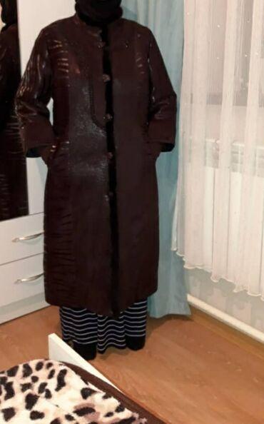 пальто женское зимнее бишкек в Кыргызстан: 1) срочно Продаю дублёнку с натуральными норкавыми вставками с верблюж