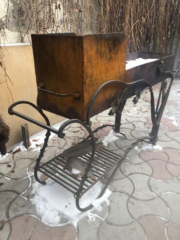 smoker koptilnja gril mangal в Кыргызстан: Срочно продаю мангал кованый,толстое железо 4мм,можно использовать для