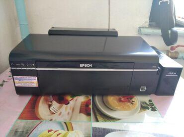 Компьютеры, ноутбуки и планшеты в Каинды: Продаю принтер совершенно новый Epson l 805 в идеальном состоянии