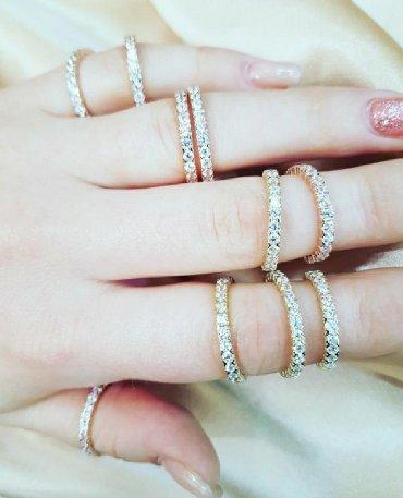 Чёрные кольца из вольфрама - Кыргызстан: Кольца дорожки из красного и жёлтого золота  585 проба