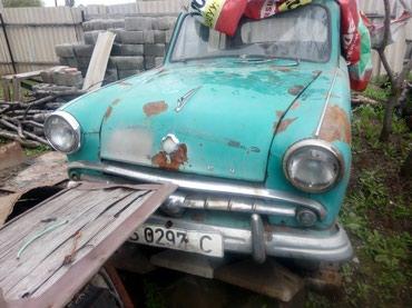 Москвич - Шопоков: Москвич 402 1958