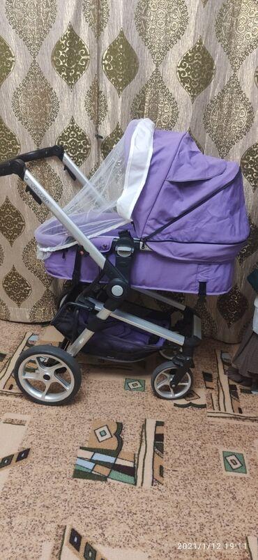 люльки электрические в Кыргызстан: Продаю коляску б/ у трансформер фирмы jojjer . В хорошем состоянии