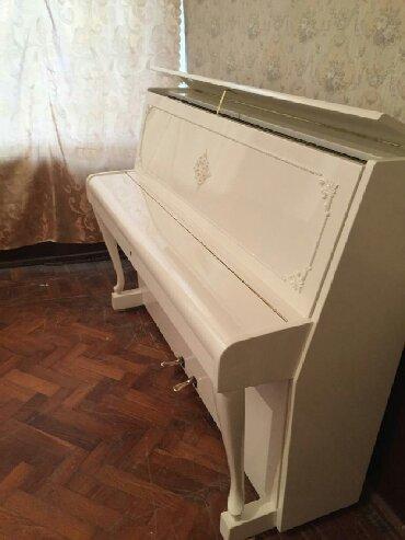 ağ sandallar - Azərbaycan: Pianino rusya, cexiya və almaniya stehsalı olan zəmanətli ağ və digər