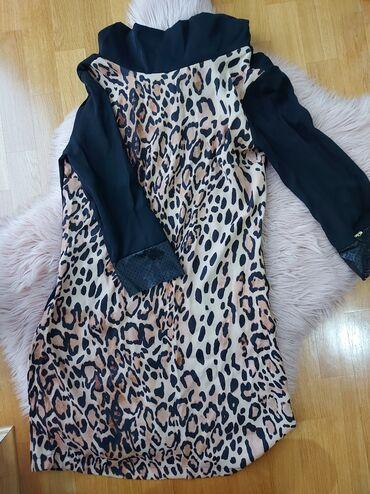 Nova haljina,poreklo Turska, prijatnog materijala, velicina S, siri