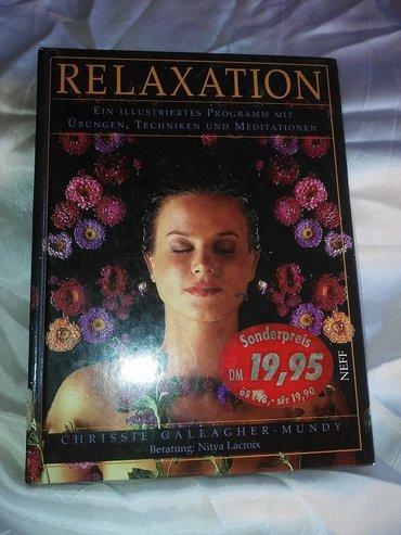 Knjiga za relaksaciju , original naslov : relaxation , nitya lacroix - Kovin