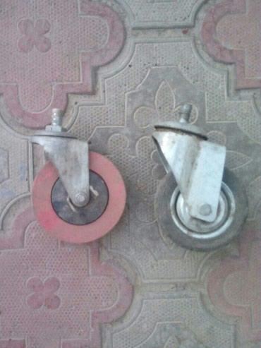 Продаю колесики по 50 сом, б/у только в Бишкек
