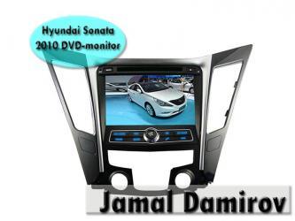 Bakı şəhərində Hyundai sonata 2010 üçün dvd- monitor. Dvd- монитор для