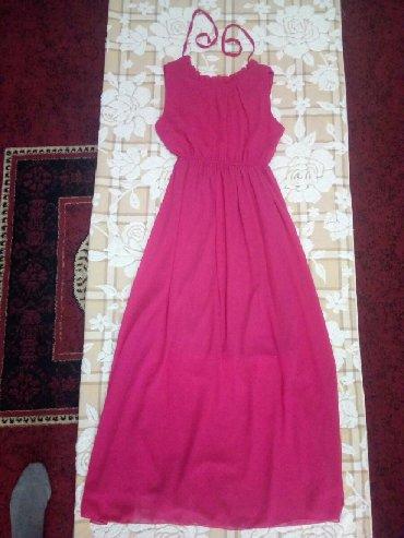 платье из шифона в Кыргызстан: Продаю абсолютно новое платье из шифона, брала в Караване, очень