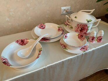 индюки биг 6 цена в Кыргызстан: Продаю японский столовый(30 предметов)цена 10000 сом и чайный сервиз