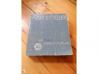 Cetnici sever - Srbija: Yvert et tellier -3 toma. Yvert et tellier je diler poštanskih marki i