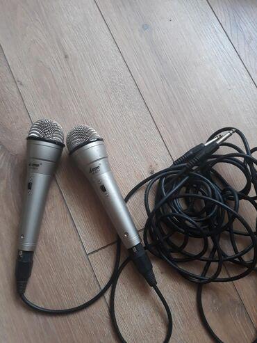 караоке в Кыргызстан: Продаю 2 микрофона караоке. Цена за 2