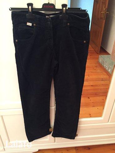 женские брюки кюлоты в Азербайджан: Вельветовые брюки, размер 40, Бренд missoni
