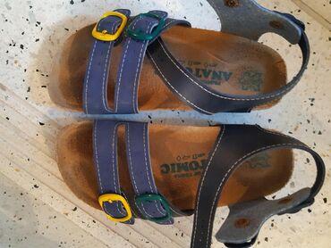 Anatomske sandale za decaka, slabo nosene