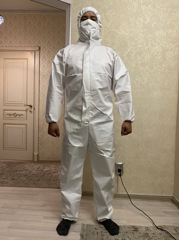 Медицинские спец костюмы против вируса, водонепроницаемые,материал из