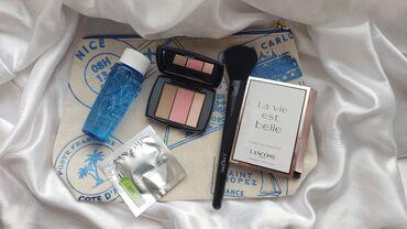Набор Lancome  Двухфазный лосьон для снятия макияжа BI-facil  Палетка