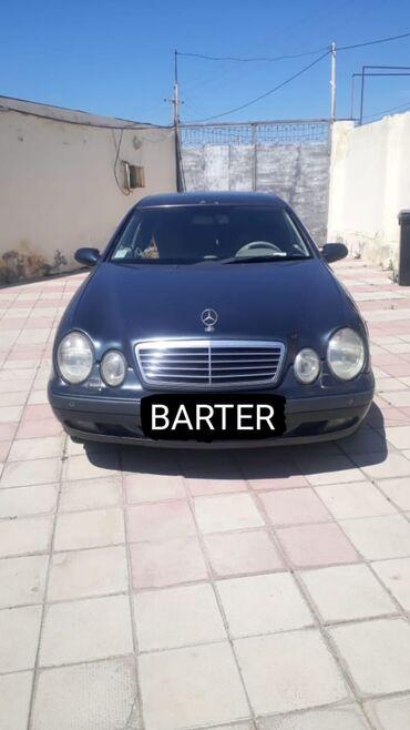 audi coupe 23 e - Azərbaycan: Mercedes-Benz CLK-Class 2.3 l. 1998 | 280000 km