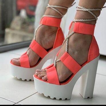 Nove sandale na stiklu boju birate vi Brojevi 36do41