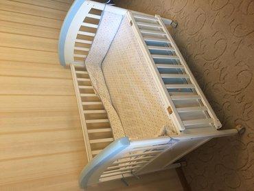 Продаю детскую кроватку для новорожденных с Люлькой внутри  практическ