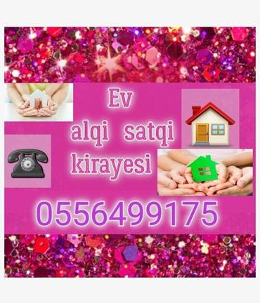 Emlak ev alqi satqi kiraye 500 azn icareye arendaya obyekt satdiq в Bakı