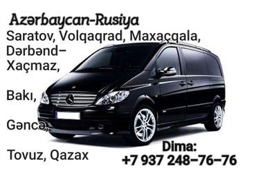 Bakı şəhərində Azərbaycan-Rusiya marşrutu