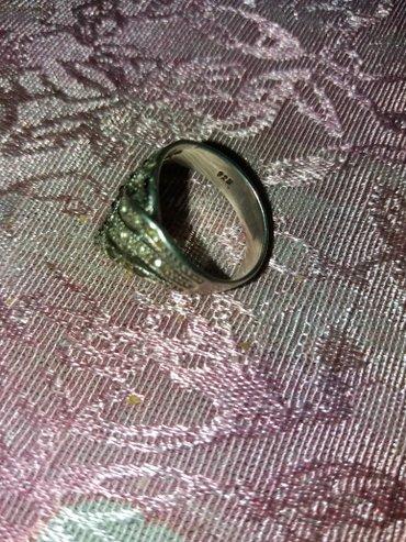 Srebrni prsten  cisto srebro malo nosen ima zig broj18 - Loznica
