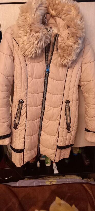 Куртка зимняя 11 до 15лет в хорошем состоянии