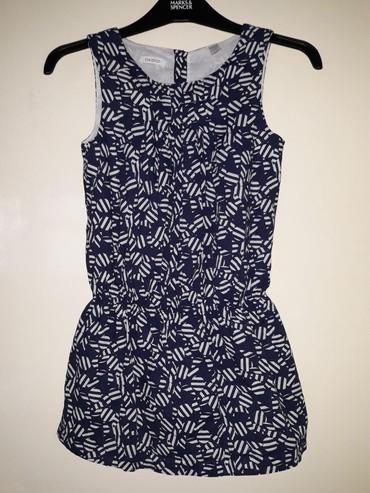 Haljina-postavljena - Srbija: Okaidi haljina, velicina 10 (134-140). Teget plava haljinica