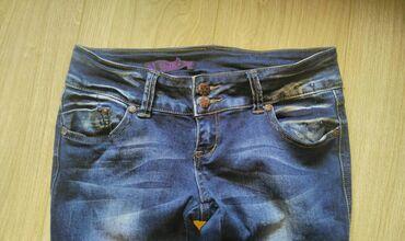 Osika jeans Očuvane farmerke, tamniji džins, veličina 27