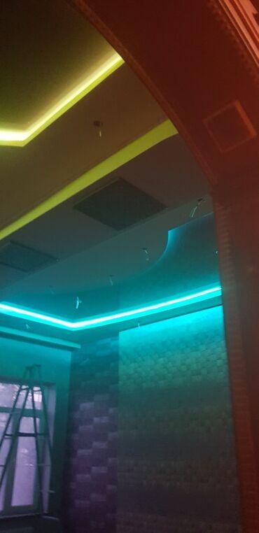 Натяжные потолки - Кыргызстан: Натяжные потолки | Глянцевые, Матовые, 3D потолки | Монтаж, Демонтаж, Бесплатная консультация
