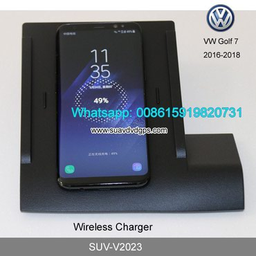 VW Golf 7 Car QI wireless charger quick charge fast wireless charging in Kathmandu