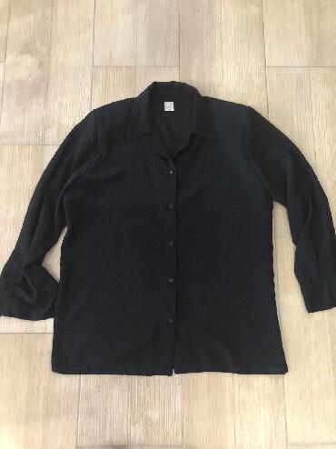 Ramena sirina cm - Srbija: Zenska crna kosulja. Bez ostecenja. Ima naramenice. Sirina ramena: 43